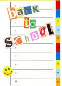 Pagina van organisator notebook — Stockfoto