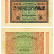 20000 Reishsmark (1923) - Stock Photo