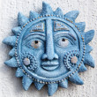 Stock Photo: Blue sun