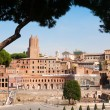 Picturesque view on antic Rome — Stock Photo