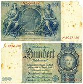 100 Reishsmark (1935) — Stock Photo
