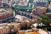 Aerial view of Rome — Stock Photo
