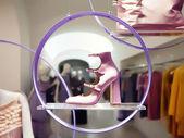 Pink high heels — Stock Photo