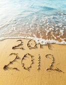 Yeni yıl 2012 — Stok fotoğraf