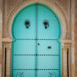 Arabic door — Stock Photo