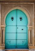 Arabic door — Stockfoto