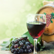 Glass of red wine — Stock Photo #6810233