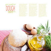 Dough ball — Stock Photo