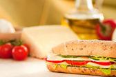 チーズのサンドイッチ — ストック写真