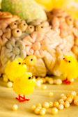 Wielkanoc piskląt — Zdjęcie stockowe