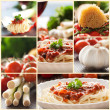 Pasta collage — Stock Photo #6970357