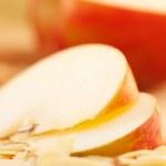 Apple pie slices — Stock Photo