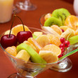 Fruity salad in bar — Stock Photo #7650571