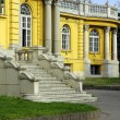 Szechenyi thermal bath entrance — Stock Photo