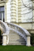 Luxury house entrance — Stock Photo