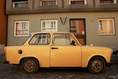 Old eastern Europe car — Stock Photo