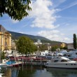 Neuchatel Port, Switzerland — Stock Photo