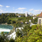 Rhine Falls, Switzerland — Stock Photo