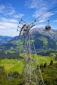 Funivia del villaggio di engelberg, svizzera — Foto Stock