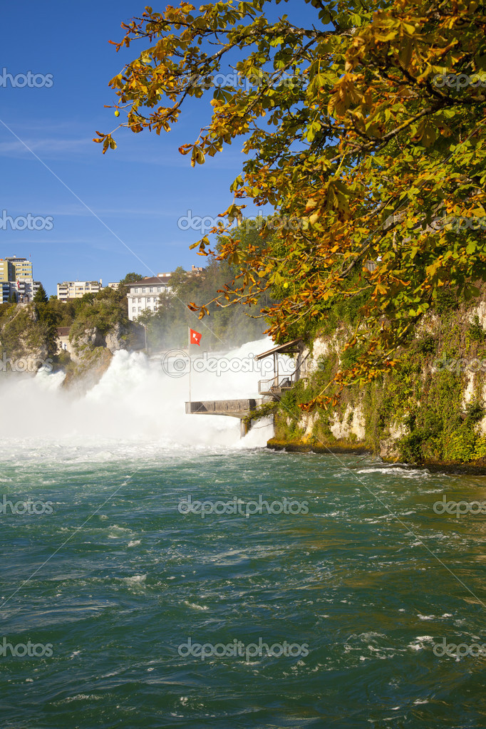 Rhine Falls, Switzerland  Stock Photo #6764091