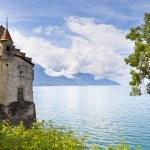 Chillon Castle in the Leman Riviera, Switzerland — Stock Photo #7027336