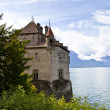 Chillon Castle in the Leman Riviera, Switzerland — Stock Photo