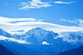 Jungfrau Mountain Range, Switzerland — Stock Photo