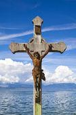 Jesuschrist statue — Stockfoto