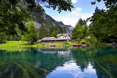 Blausee Lake — Stock Photo