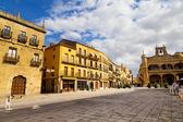 Plaza Mayor Square, Ciudad Rodrigo, Salamanca — Stock Photo
