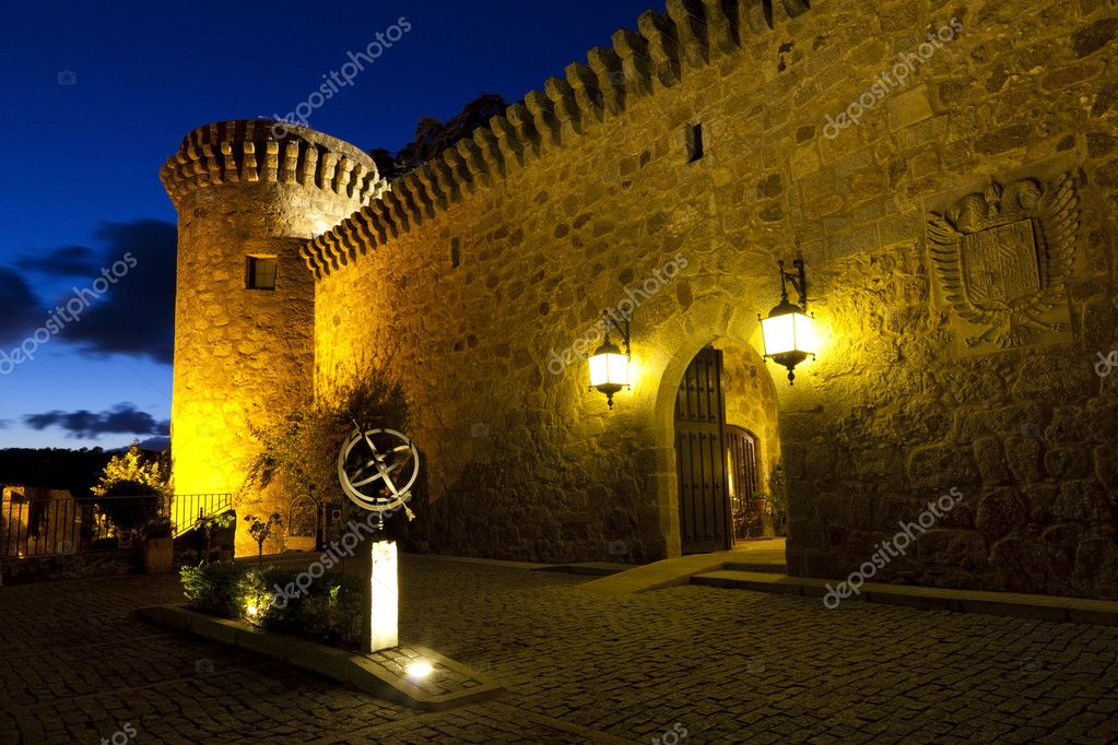 Jarandilla Castle, Extremadura, Spain — Stock Photo #7534102