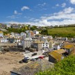 Port Isaac harbour view, Cornwall, England — Foto Stock #7266130