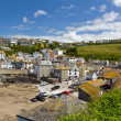 Stockfoto: Port Isaac harbour view, Cornwall, England
