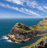 Cliff at Cornish coast near Boscastle, Cornwall, England — Stock Photo