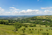 View at Cotswold Edge near Gloucester, Cotswolds, UK — Stock Photo