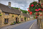 Cottages in Castle Combe, Cotswolds, UK — Stock Photo