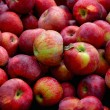 Apples background — Stock Photo