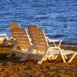 Beach chairs — Stock Photo #6980139