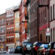 Boston street - Stock Photo