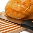 Bread and knife — Stock Photo #6980250