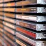 Music cd stack — Stock Photo #6980284