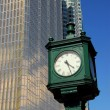 City clock — Stock Photo