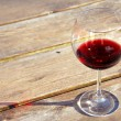 Glass of red wine — Foto Stock