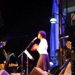 Jazz singer — Stock Photo
