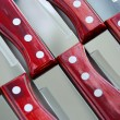 Steak knives pattern — Stock Photo #6980623