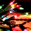 Christmas lights — Stock Photo