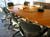 Business meeting room — Stock Photo