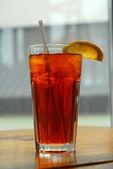 Lemon iced tea — Stock Photo