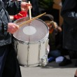Marching band drums — Stock Photo