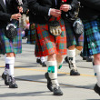 Stock Photo: Scottish marching band